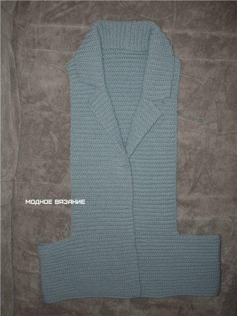 钩针:连肩上衣(两天就可完成的) - maomao - 我随心动