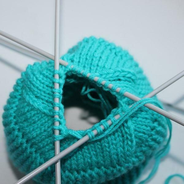 Вязание как закончить шапку 389