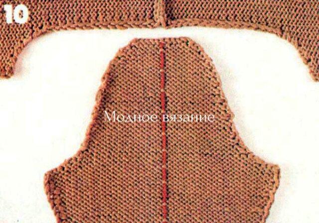 Расчет и вязание горловины ,скосов плеча оката рукава и проймы по методу Максимовой, расчет проймы, оката, горловины