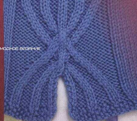 针织插入式的轧花套衫 - maomao - 我随心动
