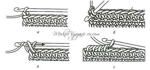 Вязание спицами рачий шаг спицами 77